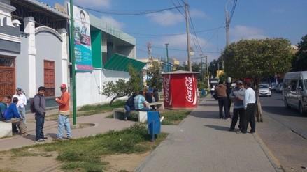 Bandos de construcción civil se disputan nuevo centro comercial de Chiclayo