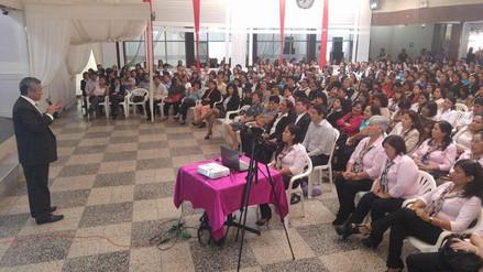 Más de 500 maestros fueron homenajeados por el municipio de La Victoria