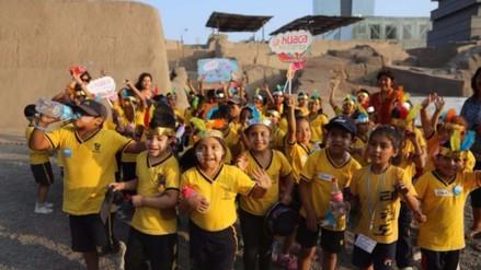 """Cultura lleva programa """"La huaca nos cuenta"""" a escolares de Puente Piedra"""