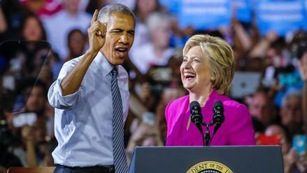 """Obama sobre Clinton: """"Nunca ha habido una candidata más preparada"""""""