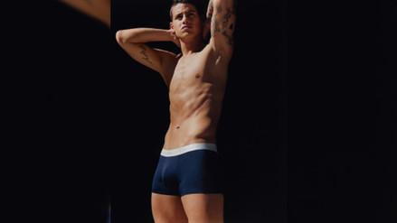 James Rodríguez, la nueva imagen de Calvin Klein