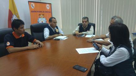 Autoridades de Lambayeque coordinan acciones para afrontar bajas temperaturas
