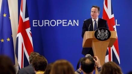 Reino Unido: Sucesor de David Cameron será nombrado el 9 de septiembre