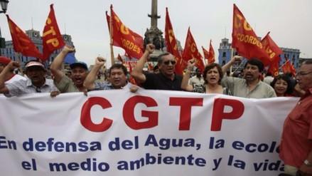 ¿Por qué la CGTP realizará cuatro marchas contra el gobierno de Humala?