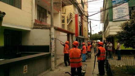 Trujillo: demuelen viviendas que ocupaban espacios públicos