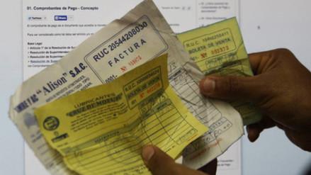 Sunat: Evasión de impuestos suma al año S/ 60 mil millones