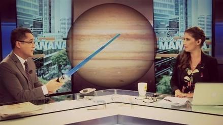 Video: esto dijeron Mariella Patriau y Armando Canchanya tras patinada sobre Júpiter