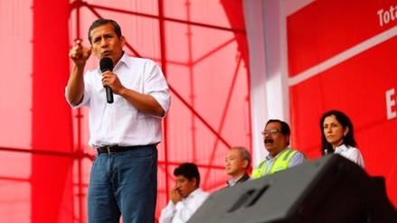 """Humala: """"Los políticos tradicionales creen que el Perú es su chacra"""""""