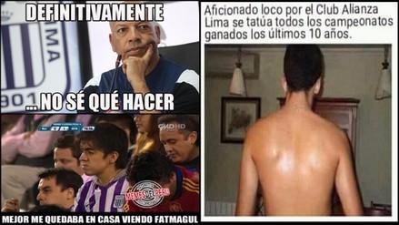 Facebook: los memes tras la derrota de Alianza Lima ante UTC