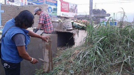 WhatsApp: Municipio de Carabayllo remueve cadáveres