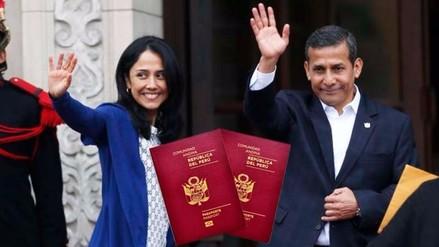 Confirman que Humala y Heredia tramitaron pasaporte biométrico