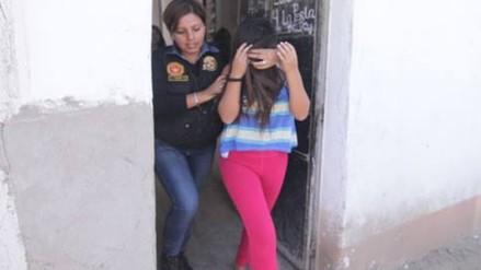 Trujillo: detienen a mujer que convivía con menor de 12 años