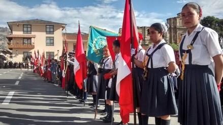 Desfile escolar por Fiestas Patrias 2016 será este 25 de julio