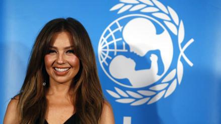 Unicef designa a Thalía embajadora de Buena Voluntad