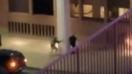 YouTube: video muestra el ataque a un policía en Dallas