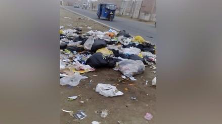 Pachacamac: continúa falta de recojo de basura desde hace tres semanas