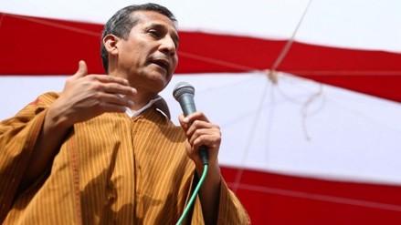 """Humala: """"Cinco años fueron cortos para trabajar por el Perú"""""""