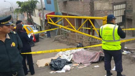 Audio: un muerto tras despiste de mototaxi en San Juan de Miraflores