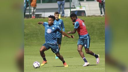 Selección Peruana: Carlos Ascues fue titular en la goleada del Wolfsburgo