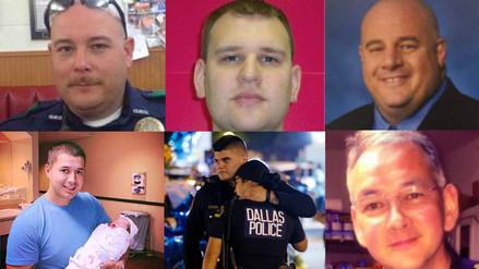Las historias de los 5 policías asesinados en la masacre de Dallas
