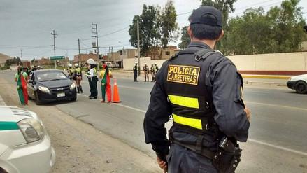Trabajo de Policía de Carreteras logró desarticular cuatro bandas de asaltantes