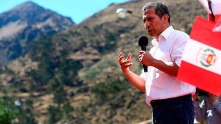 "Humala: ""Ante inoperancia de políticos, me metí en política"""