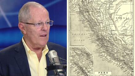 """PPK: """"Tengo un mapa de carreteras de 1940 y es casi el mismo hoy"""""""