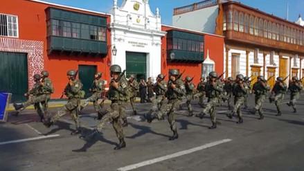 Trujillo vivirá desfile cívico militar por Fiestas Patrias este 26 de julio
