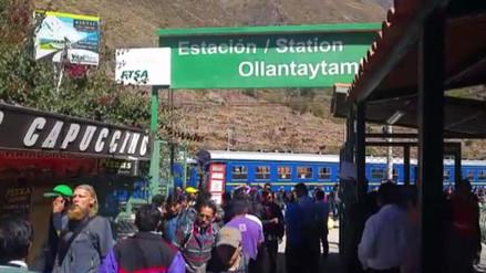 Se incrementa flujo turístico entre Ollantaytambo y Machu Picchu