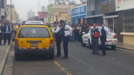 Trujillo: asesinan a balazos a taxista en pleno centro histórico