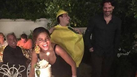 Facebook: Sofía Vergara celebró así sus 44 años