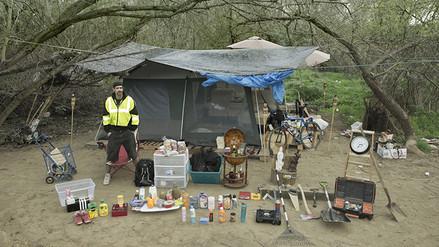 FOTOS: Personas sin techo muestran sus pertenencias más valiosas