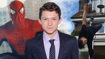 Instagram: Tom Holland comparte un selfie como Spider-Man