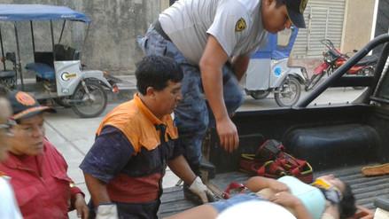 Chanchamayo: motototaxi cae a barranco con pasajeros y salvan de morir