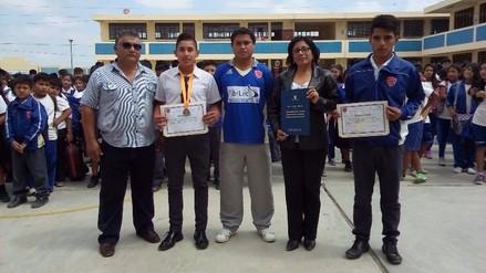 Ascope: colegio Inmaculada Concepción gana distinción nacional