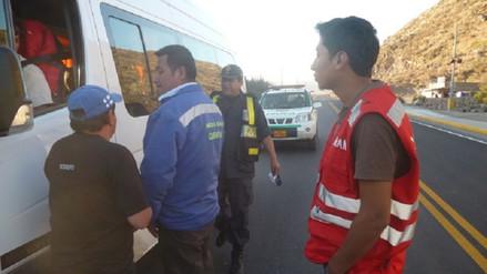 Liberan a ocho de los detenidos que agredieron a personal de Sutran
