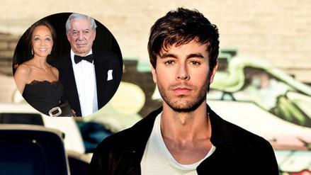 Enrique Iglesias habló del romance entre su madre y Mario Vargas Llosa