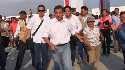 Ollanta Humala llegará a Virú y Trujillo
