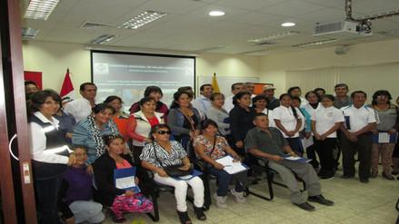 Lambayeque: capacitan a brigadas comunitarias frente a riesgos de desastres