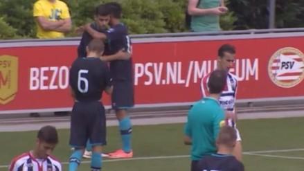 Selección Peruana: Luiz Da Silva dio asistencia y anotó gol con Jong PSV