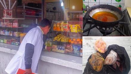 Trujillo: detectan alimentos en mal estado en quioscos de colegios
