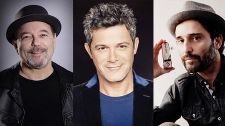 Rubén Blades se despide del Perú con Alejandro Sanz y Jorge Drexler