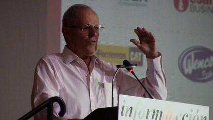 Pedro Pablo Kuckzynski participó de simposio en Ica