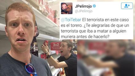 Empresa despide a youtuber por sus tuits sobre la muerte de un torero español