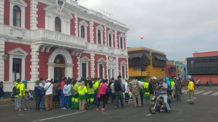 Trujillo: llega a su fin huelga de trabajadores de limpieza pública