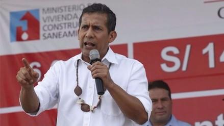Ollanta Humala confía que revolución educativa seguirá en próximo gobierno