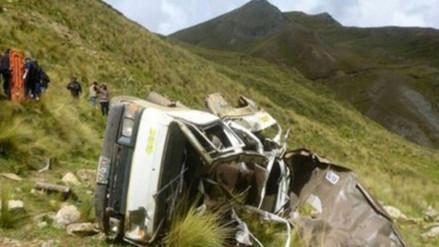 Cinco muertos y tres heridos dejó accidente de tránsito en Huanta