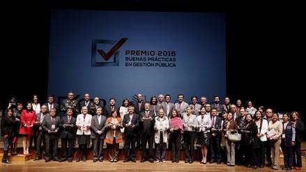El Premio Buenas Prácticas en Gestión Pública 2016 destacó las mejores iniciativas a nivel nacional