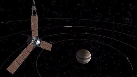 NASA publica la primera foto de Júpiter tomada desde la órbita del planeta