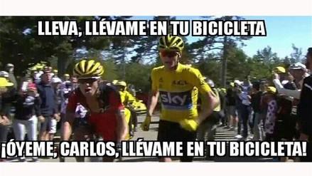 Fotos: los memes de Chris Froome tras correr en el Tour de Francia
